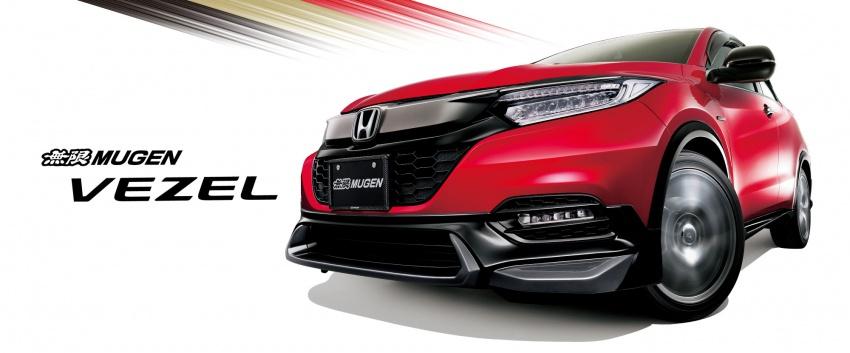 2018 Honda HR-V facelift gets Mugen and Modulo kits Image #780155