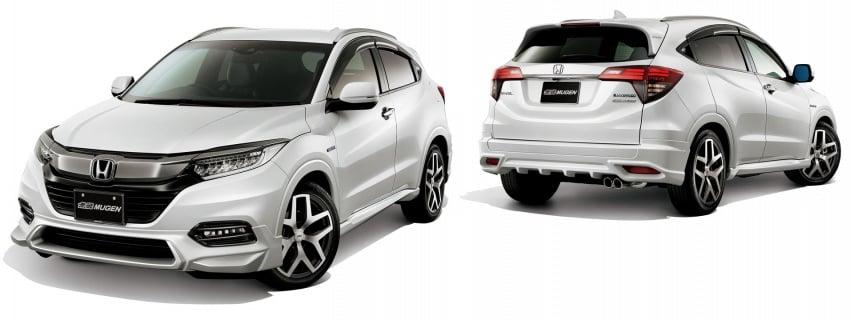 2018 Honda HR-V facelift gets Mugen and Modulo kits Image #780156