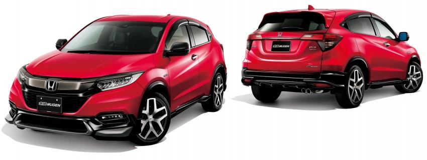 2018 Honda HR-V facelift gets Mugen and Modulo kits Image #780157