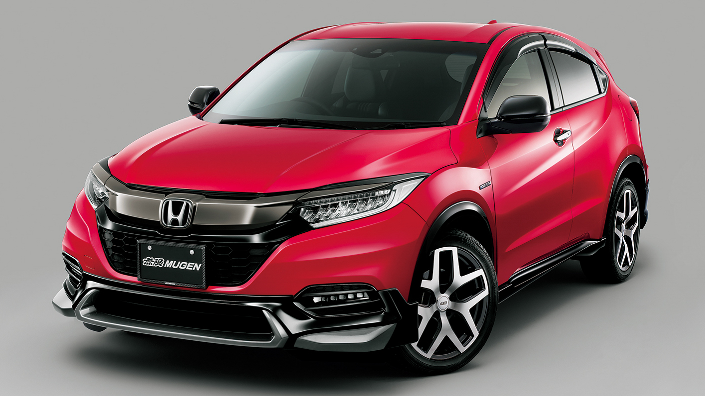 2018 honda hr v facelift gets mugen and modulo kits. Black Bedroom Furniture Sets. Home Design Ideas