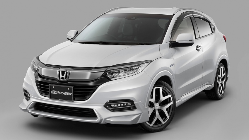 2018 Honda HR-V facelift gets Mugen and Modulo kits Image #780160