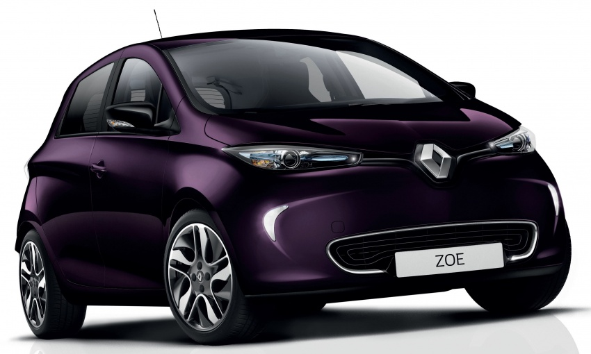 2018 Renault Zoe receives new R110 electric motor Image #780459