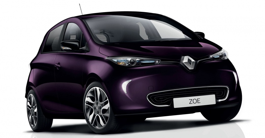 2018 Renault Zoe receives new R110 electric motor Image #780472