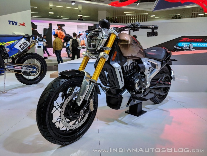 2018 TVS Zeppelin Cruiser Concept unveiled in India Image #777066