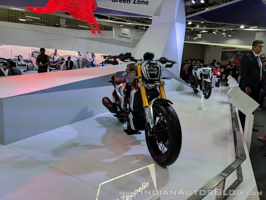 2018 TVS Zeppelin Cruiser Concept unveiled in India Image #777067