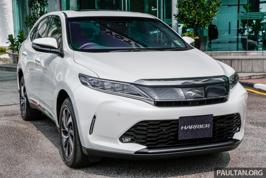 GALLERY: 2018 Toyota Harrier 2.0T Luxury in Malaysia Image #780955