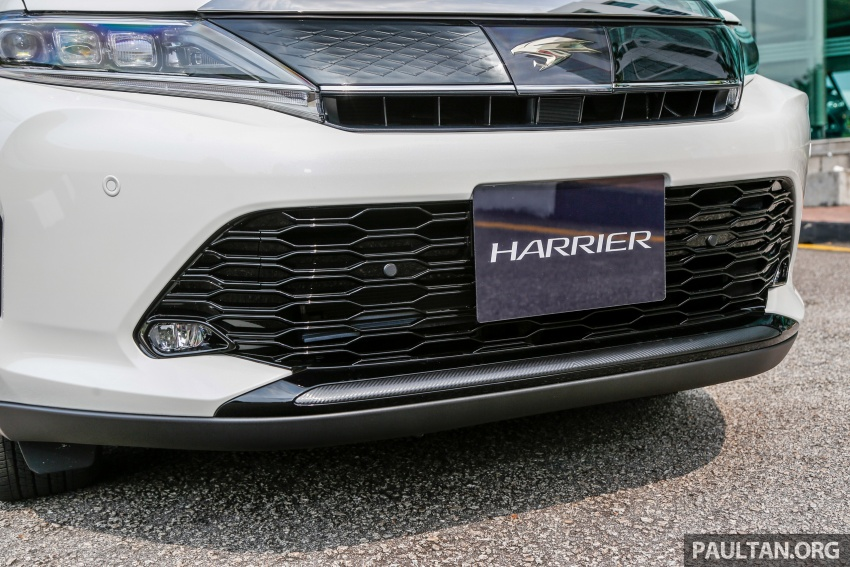 GALLERY: 2018 Toyota Harrier 2.0T Luxury in Malaysia Image #780967
