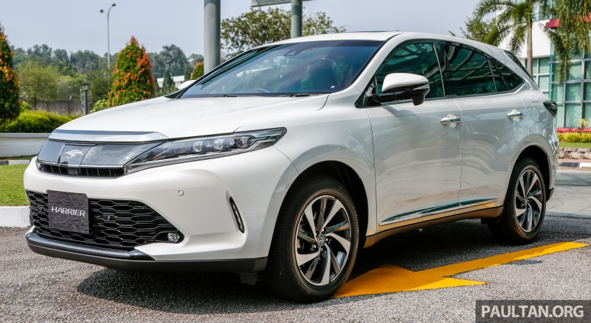 GALLERY: 2018 Toyota Harrier 2.0T Luxury in Malaysia Image #780956