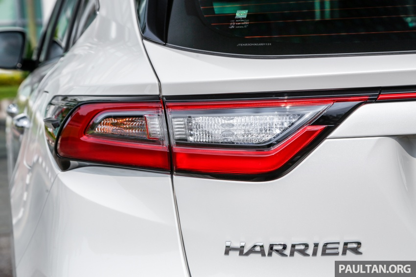GALLERY: 2018 Toyota Harrier 2.0T Luxury in Malaysia Image #780979
