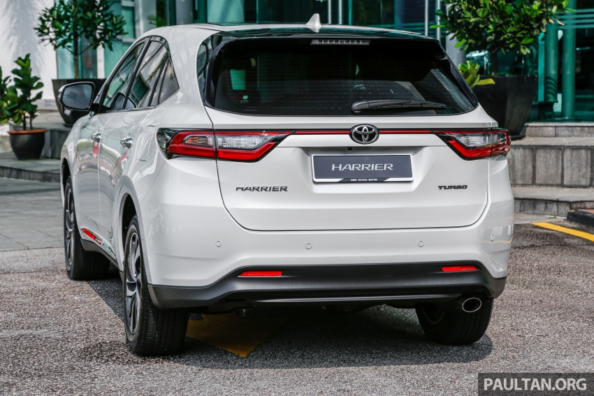 GALLERY: 2018 Toyota Harrier 2.0T Luxury in Malaysia Image #780959