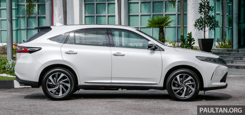 GALLERY: 2018 Toyota Harrier 2.0T Luxury in Malaysia Image #780960