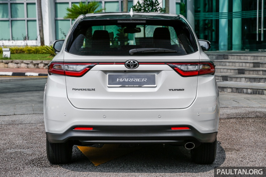 GALLERY: 2018 Toyota Harrier 2.0T Luxury in Malaysia Image #780961