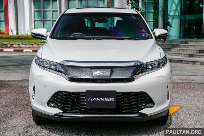 GALLERY: 2018 Toyota Harrier 2.0T Luxury in Malaysia Image #780962