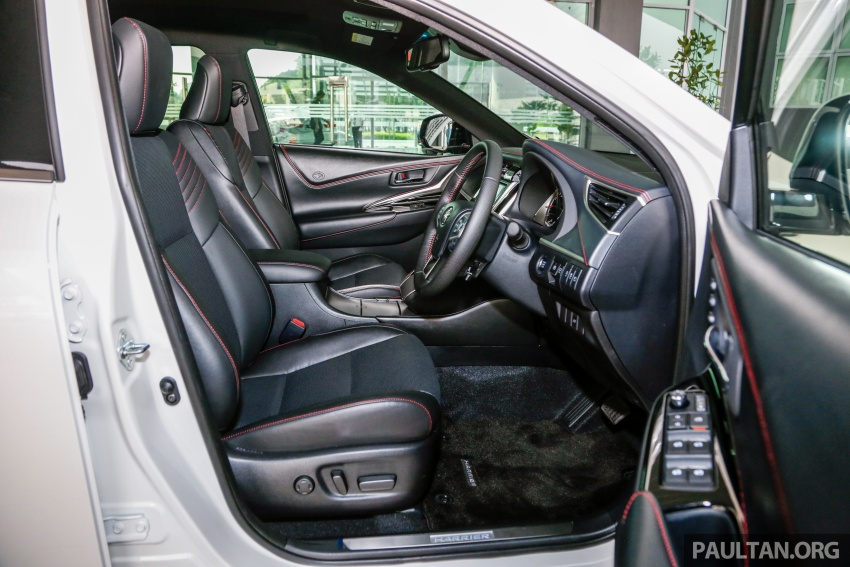 GALLERY: 2018 Toyota Harrier 2.0T Luxury in Malaysia Image #781027