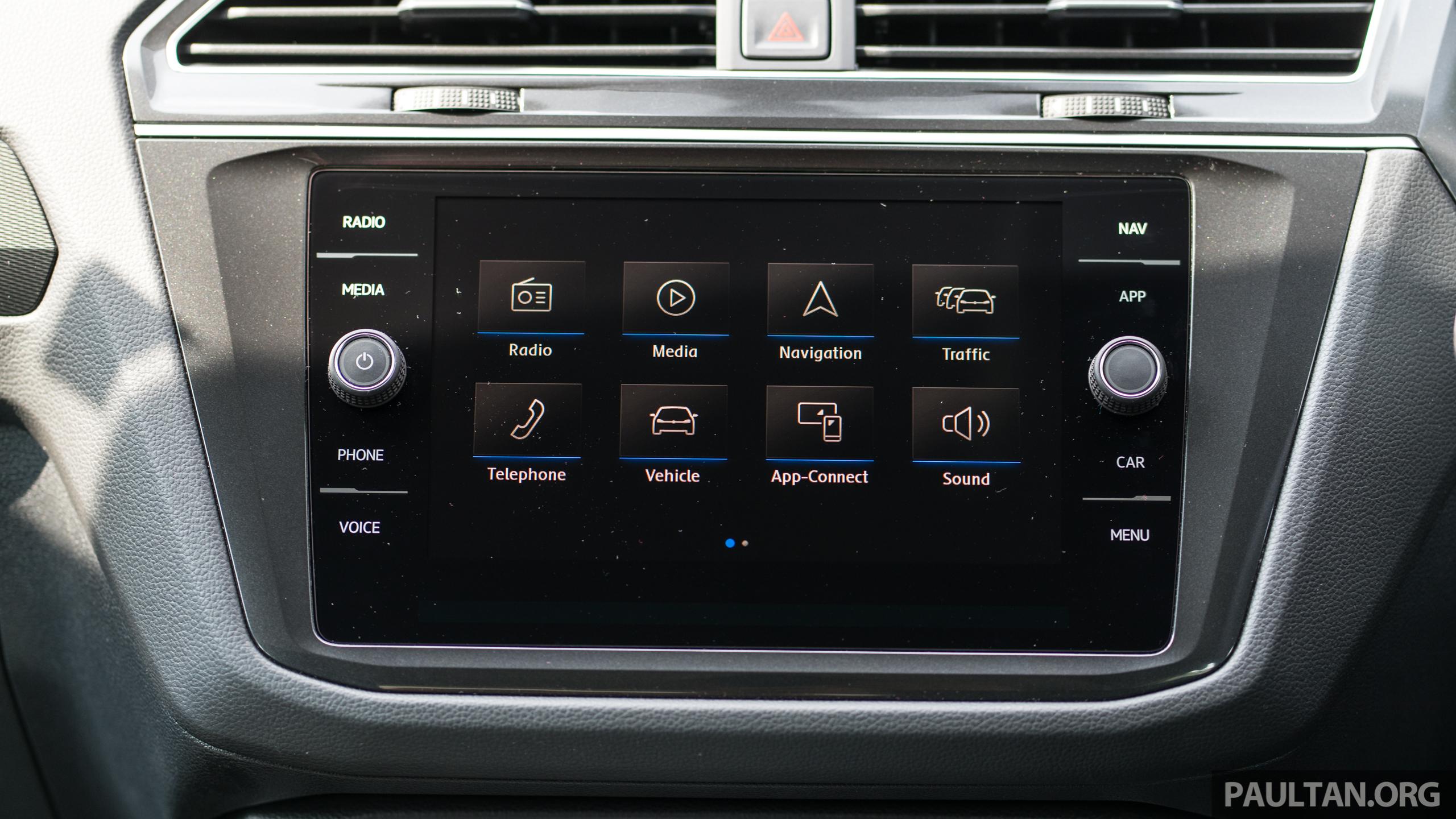 Volkswagen Tiguan Comfortline, Tiguan Highline and Passat