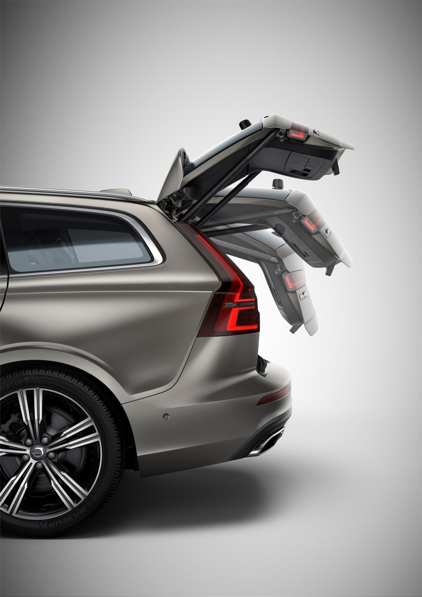 2018 Volvo V60 unveiled – new T6 Twin Engine PHEV Image #781364