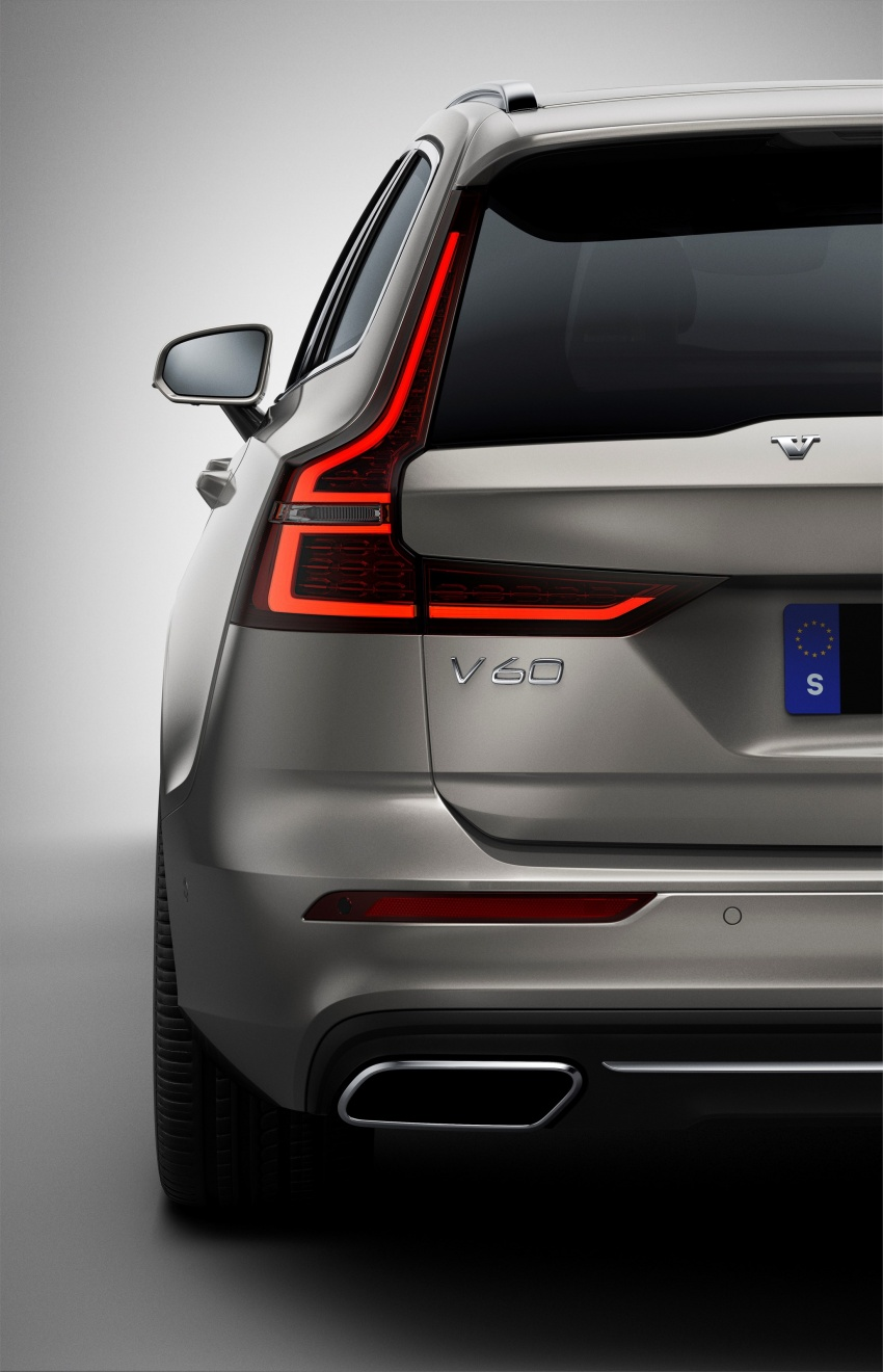 2018 Volvo V60 unveiled – new T6 Twin Engine PHEV Image #781367