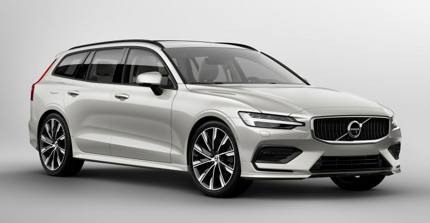 2018 Volvo V60 unveiled – new T6 Twin Engine PHEV Image #781352