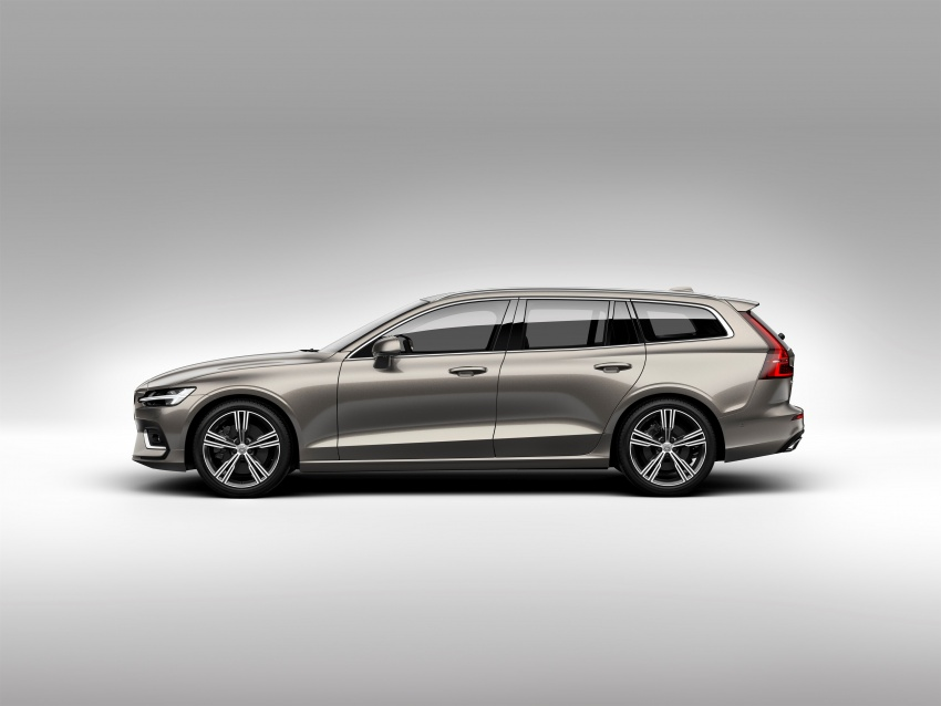 2018 Volvo V60 unveiled – new T6 Twin Engine PHEV Image #781379