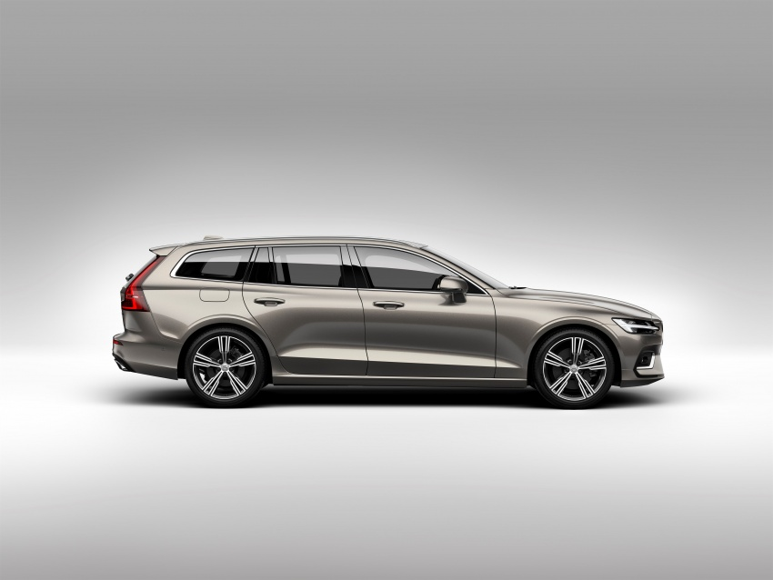 2018 Volvo V60 unveiled – new T6 Twin Engine PHEV Image #781380