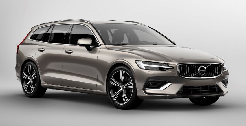 2018 Volvo V60 unveiled – new T6 Twin Engine PHEV Image #781382