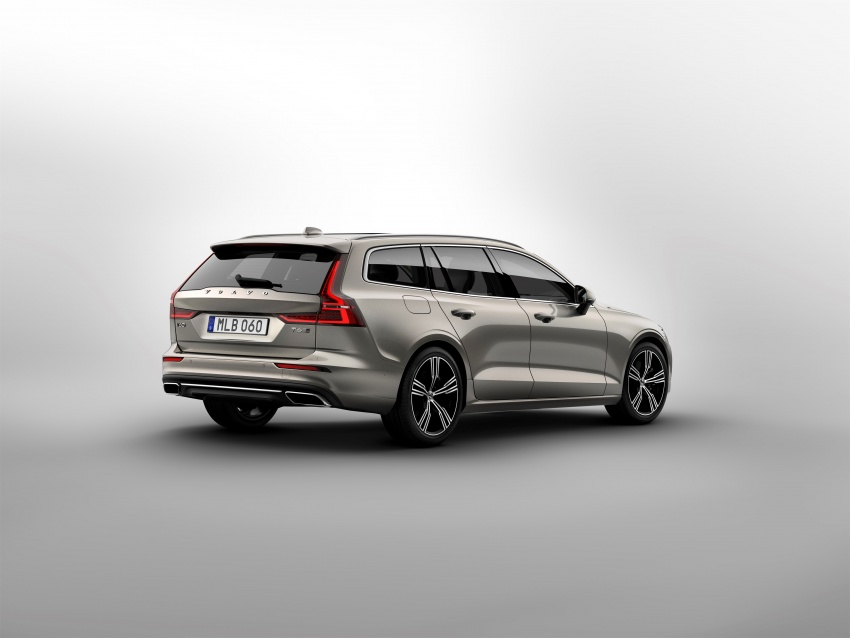 2018 Volvo V60 unveiled – new T6 Twin Engine PHEV Image #781383