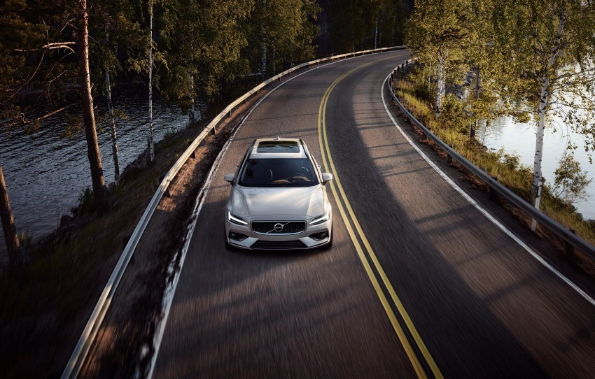 2018 Volvo V60 unveiled – new T6 Twin Engine PHEV Image #781386