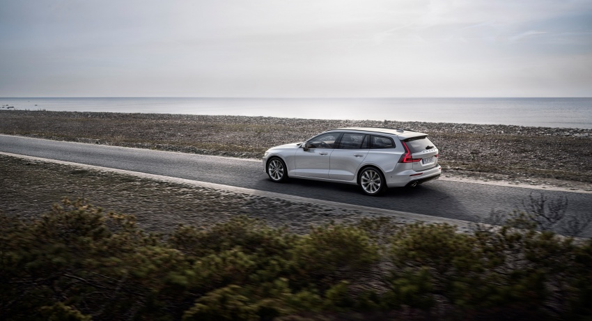 2018 Volvo V60 unveiled – new T6 Twin Engine PHEV Image #781387