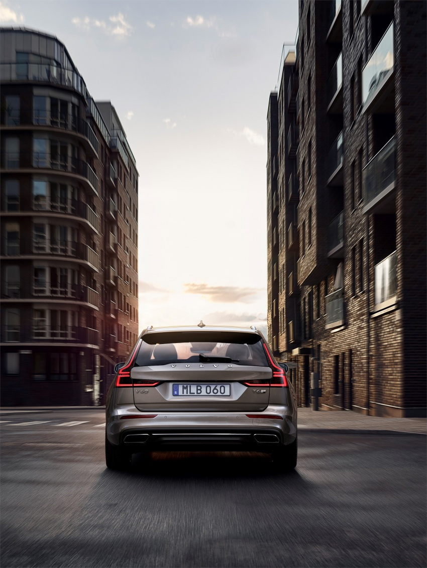 2018 Volvo V60 unveiled – new T6 Twin Engine PHEV Image #781390