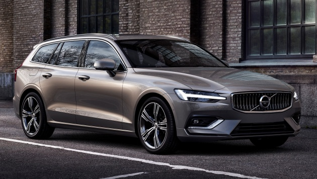 2018 volvo v60 unveiled new t6 twin engine phev. Black Bedroom Furniture Sets. Home Design Ideas
