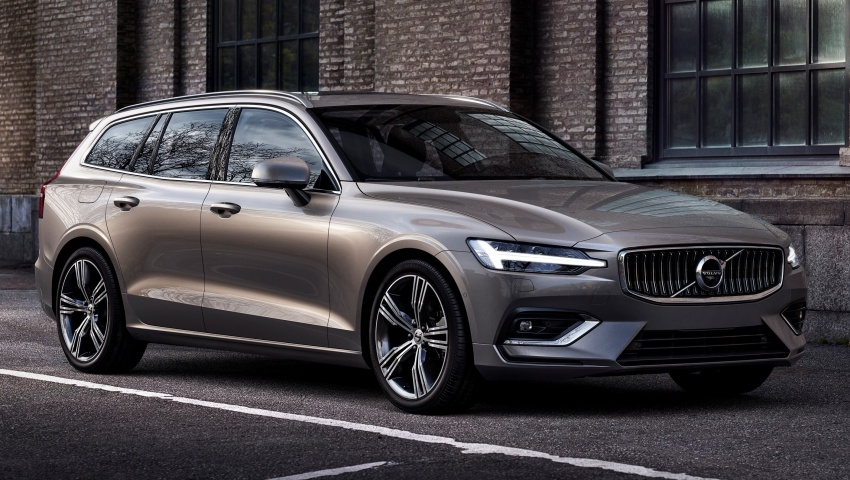 2018 Volvo V60 unveiled – new T6 Twin Engine PHEV Image #781392