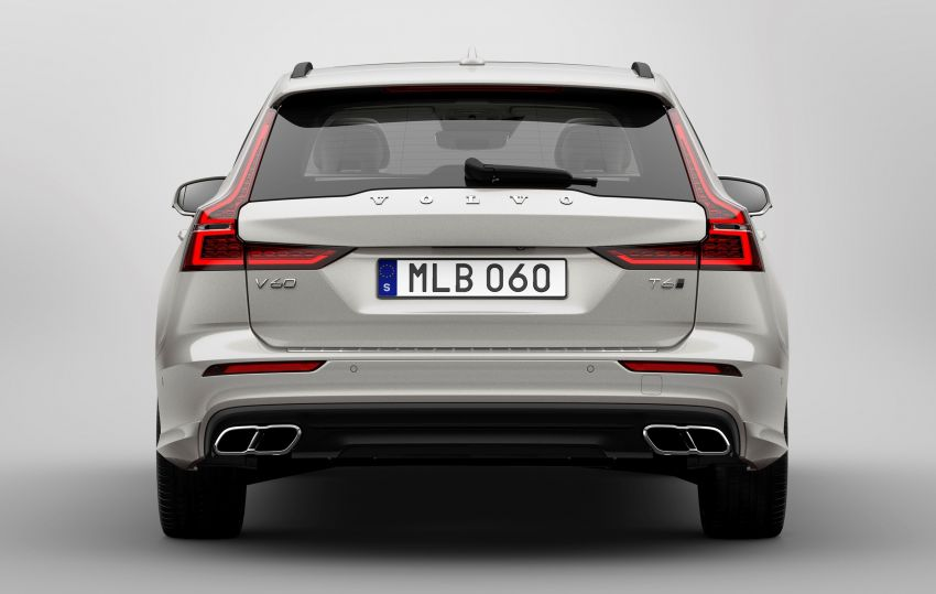2018 Volvo V60 unveiled – new T6 Twin Engine PHEV Image #781354