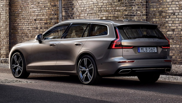 2018 Volvo V60 unveiled – new T6 Twin Engine PHEV