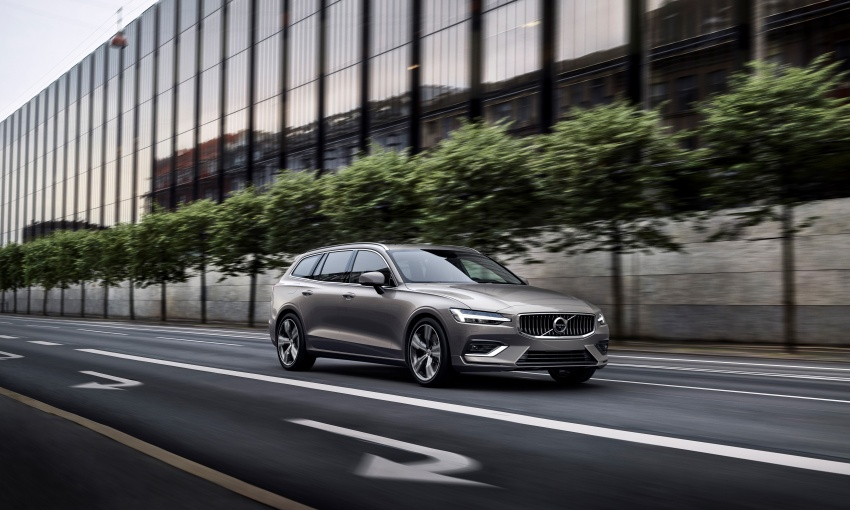 2018 Volvo V60 unveiled – new T6 Twin Engine PHEV Image #781396