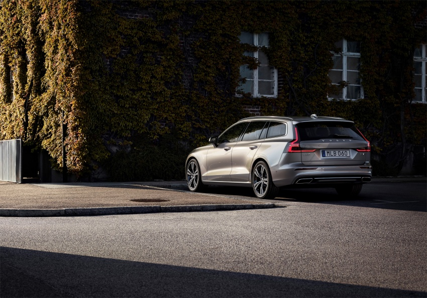 2018 Volvo V60 unveiled – new T6 Twin Engine PHEV Image #781409