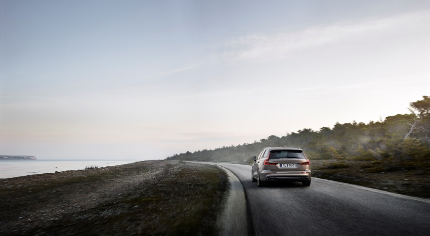 2018 Volvo V60 unveiled – new T6 Twin Engine PHEV Image #781412