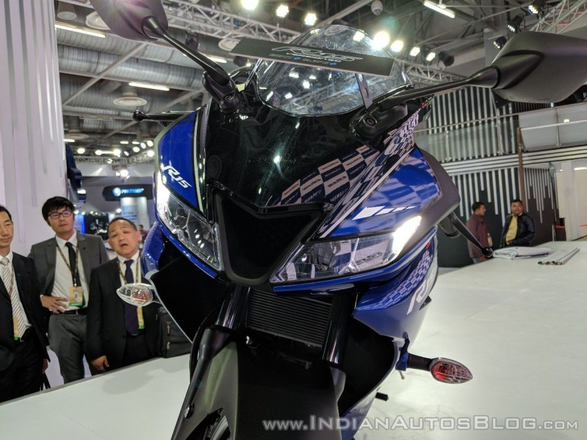 2018 Yamaha YZF-R15 launched in India – RM7,620 Image #777005