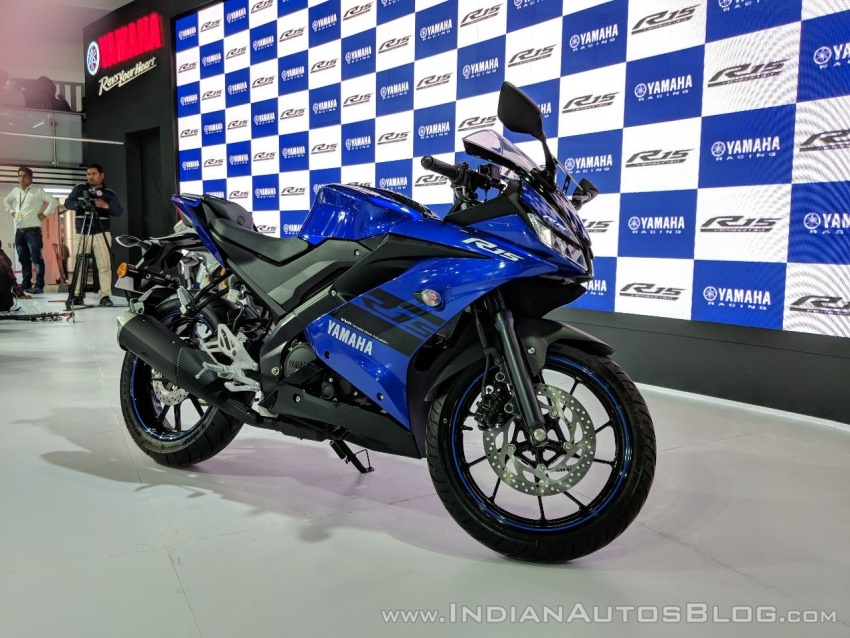 2018 Yamaha YZF-R15 launched in India – RM7,620 Image #777009