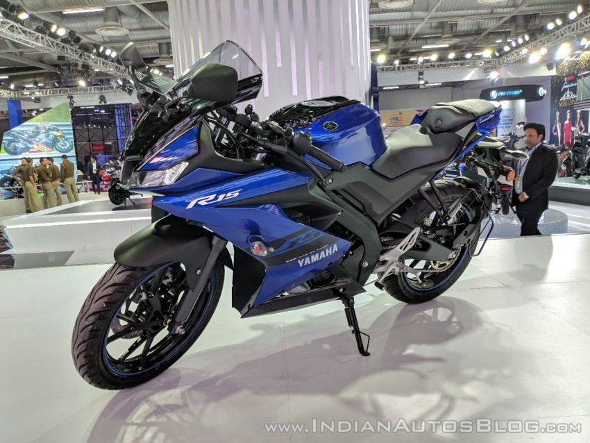 2018 Yamaha YZF-R15 launched in India – RM7,620 Image #777011
