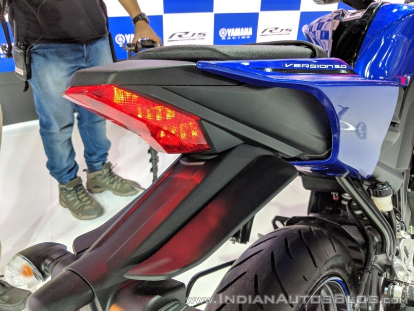 2018 Yamaha YZF-R15 launched in India – RM7,620 Image #777001