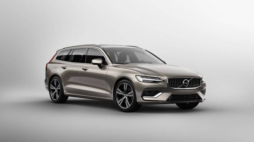 Volvo V60 generasi baharu didedahkan secara rasmi – turut tampil pilihan hibrid <em>plug-in</em> T6 Twin Engine Image #781531