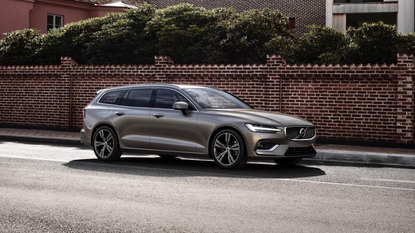 Volvo V60 generasi baharu didedahkan secara rasmi – turut tampil pilihan hibrid <em>plug-in</em> T6 Twin Engine Image #781530