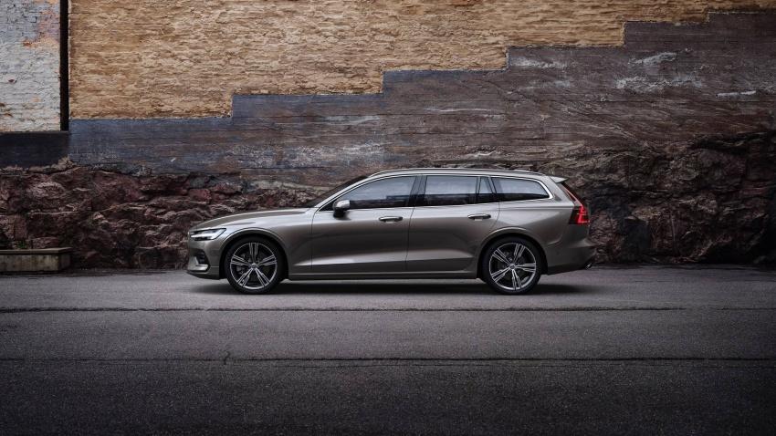 Volvo V60 generasi baharu didedahkan secara rasmi – turut tampil pilihan hibrid <em>plug-in</em> T6 Twin Engine Image #781527