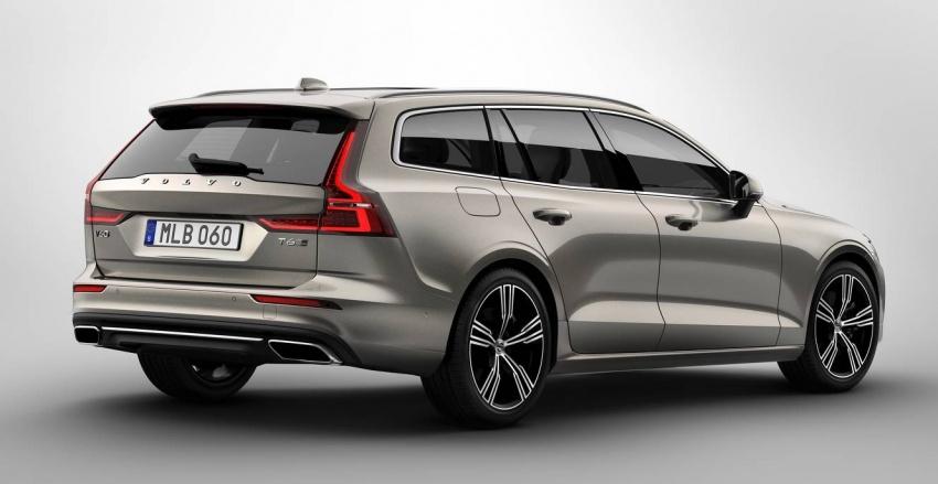 Volvo V60 generasi baharu didedahkan secara rasmi – turut tampil pilihan hibrid <em>plug-in</em> T6 Twin Engine Image #781516