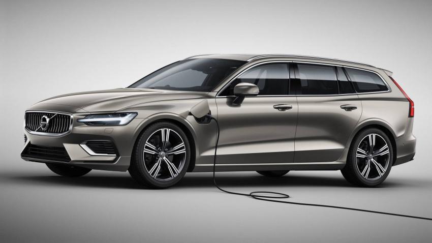 Volvo V60 generasi baharu didedahkan secara rasmi – turut tampil pilihan hibrid <em>plug-in</em> T6 Twin Engine Image #781540