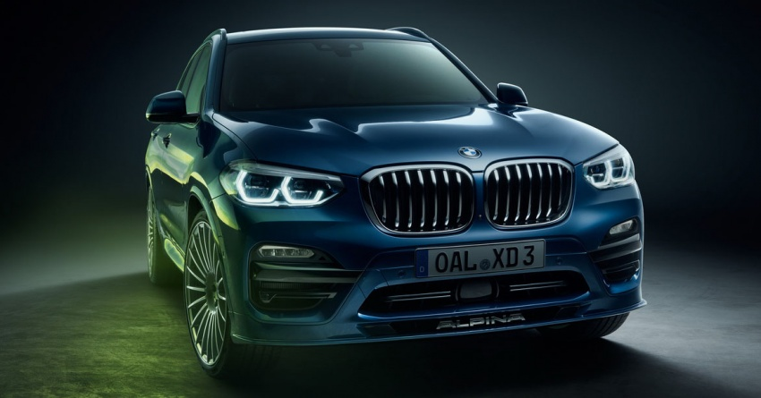Alpina XD3 revealed with 3.0 litre quad-turbo diesel engine – 388 hp and 770 Nm, 0-100 km/h in 4.6s Image #783558