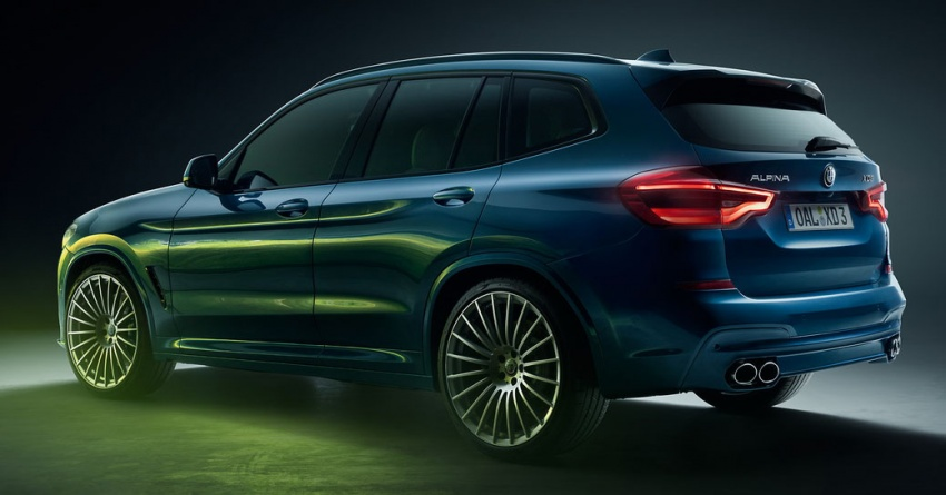 Alpina XD3 revealed with 3.0 litre quad-turbo diesel engine – 388 hp and 770 Nm, 0-100 km/h in 4.6s Image #783559