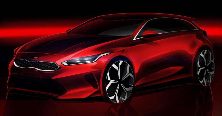 2018 Kia Ceed teased ahead of Geneva world premiere Image #776307