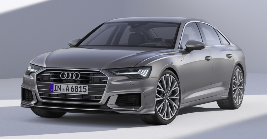 2019 Audi A6 officially revealed with mild hybrid tech Image #784061