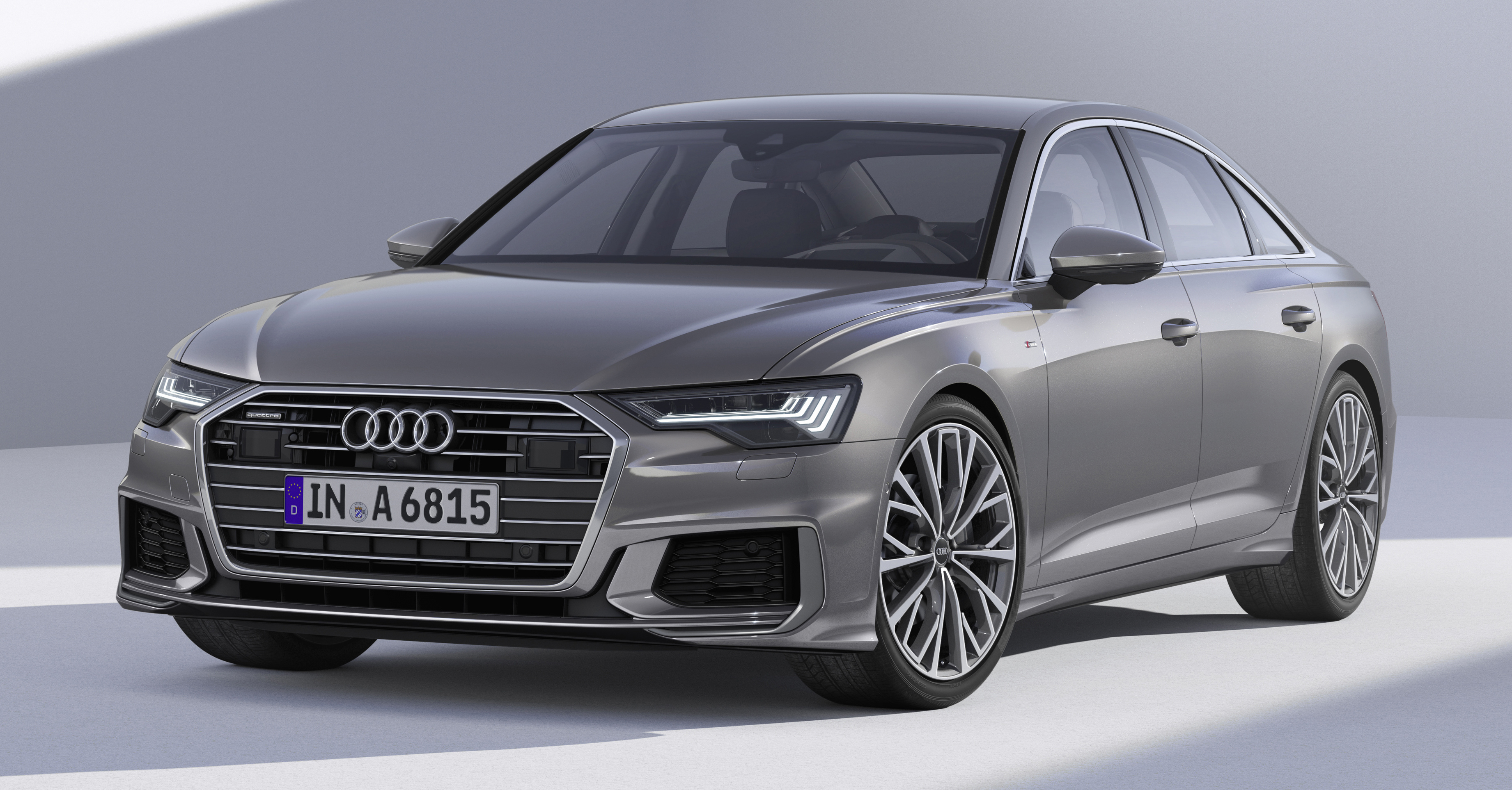 2019 audi a6 officially revealed with mild hybrid tech. Black Bedroom Furniture Sets. Home Design Ideas